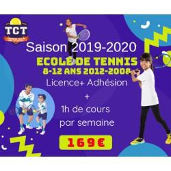 Ecole de tennis à l'année...
