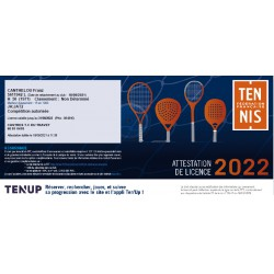Licence tennis FFT adulte...