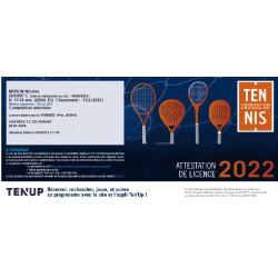 Licence tennis FFT jeune...